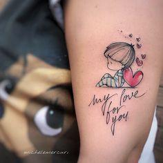 Artist Lamezia Terme, Calabria, I Mommy Tattoos, Mutterschaft Tattoos, Tattoos For Baby Boy, Tattoo Mama, Tattoo For Son, Mother Tattoos, Tattoos For Kids, Family Tattoos, Mini Tattoos