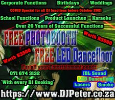 Led Dance, Club Lighting, 21 Years Old, School Parties, 13 Year Olds, Party Themes, Party Ideas, Karaoke, Website Template