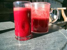 Sunset Juice  [sweet potato, pink lady apples, beets, bell pepper, orange, carrots]