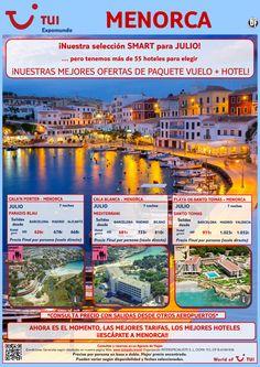 ¡Nuestra selección smart para Menorca! Julio. Vuelo+Hotel 7 noches. Precio final desde 626€ ultimo minuto - http://zocotours.com/nuestra-seleccion-smart-para-menorca-julio-vuelohotel-7-noches-precio-final-desde-626e-ultimo-minuto-2/