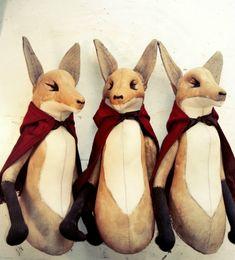 Spielzeuge selber nähen – Inspiration von den Märchenwesen von Mr.Finch