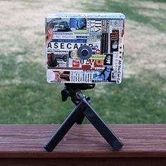"Cigar Box Pinhole Camera ffeatured on ""The Pinhole Camera"" blog"