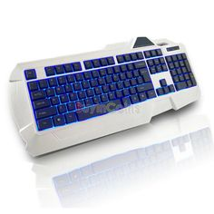 USB Wired  LED Backlit Illuminated Gaming Game Keyboard for PC Laptop -- BuyinCoins.com