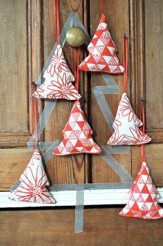 christmas tree ornaments, via blueberry4park