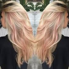 Image result for pastel tips blonde hair