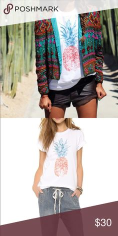 Sincerely Jules Pina Colada tee Pina colada tee by sincerely Jules Tops Tees - Short Sleeve