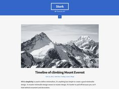 WordPress › Free WordPress Themes #blogging