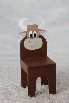 iChart Kids Bull / Cow Chair  - Children's Furniture.
