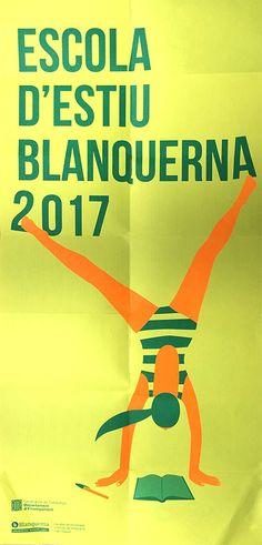 Imatge gràfica Escola d'Estiu 2017. Facultat de Psicologia i Ciències de l'Educació i de l'Esport Blanquerna. #graphic #design #university #Blanquerna