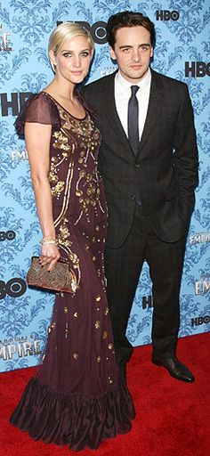 Ashlee Simpson Supports New Beau at Boardwalk Empire Premiere - Us Weekly Vincent Piazza, Ashlee