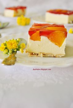 Sernik na zimno Panna Cotta, Cheesecake, Ethnic Recipes, Cakes, Dulce De Leche, Cheesecakes, Pastries, Torte, Cookies