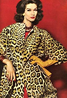 Image result for leopardskin coat 1970s
