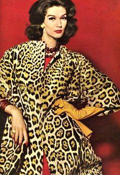 Image result for leopardskin coat 1970s