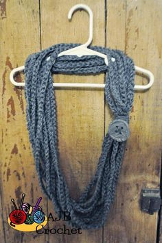 Crocheted Chain Cowl