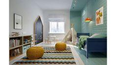 Projets d'aménagements originaux pour chambres d'enfant