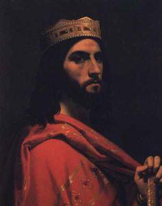 Dagobert II - King of the Salic Franks and 44th grandfather.