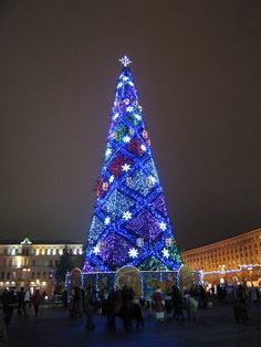 Christmas Tree in Kiev, Ukranian