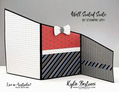 VIDEO: Well Suited Suite Z-Fold Card - Kylie Bertucci