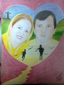Giseli e Ronan by Olney