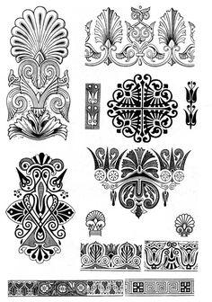 античная роспись