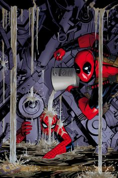 More Deadpool Cover Photobombs for Marvel's 75th Anniversary