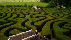 Discover Longleat Hedge Maze in Wiltshire, England: The longest hedge maze in the world. Hawaii, Classic Garden, Scholarships For College, Hedges, Landscape Architecture, Adventure Travel, Storytelling, Places To See, Hungary