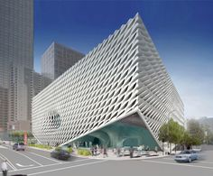 diller scofidio + renfro: the broad art foundation in LA under construction - designboom   architecture & design magazine
