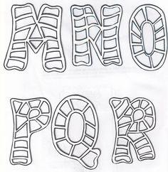 Letras bonitas para titulos abecedario - Imagui