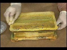 ▶ Pinturas Decorativas em Madeira: Policromia Craquelada - YouTube