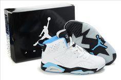 best authentic e7e59 38585 Air Jordan 6 White Blue Black. Retro ShoesJordan RetroNike ...