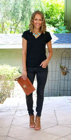 Today's Everyday Fashion: Black Jeans