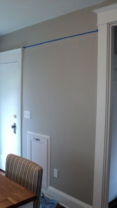 Sherwin Williams Amazing Gray whole house paint color entry living room stair walls dining room walls loft and hallways