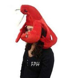 Plush Lobster Hat