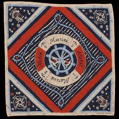 UNIONMADE - Natic Marine - Lifebuoy Nautical Print Bandana