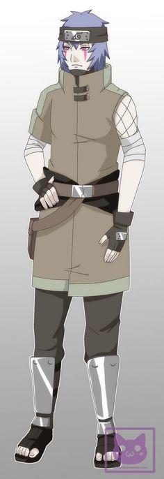Akio Hiro (Konoha outfit) by george3222.deviantart.com on @DeviantArt