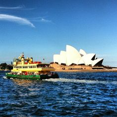 #Sydney Opera House & ferry #Sydney #Australia  by priscillaanne instagram