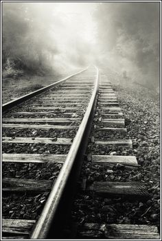 early morning on a railway track in the hills Please check out: http://TheThrillSociety.com It's wicked Thrilling!