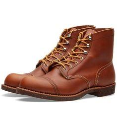 """Red Wing 8112 Heritage 6"""" Iron Ranger Boot (Oro-iginal)"""
