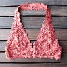 a75d242de0224 intimate semi-sheer halter lace bralette (7 colors) - shophearts - 8 Lace