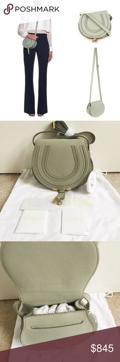 🎉HP🎉🎉Authentic Chloe mini Marcie crossbody bag Brand new 100% authentic, comes with dustbag and cards, this color sold out everywhere.❌NO TRADE‼️ Chloe Bags Crossbody Bags