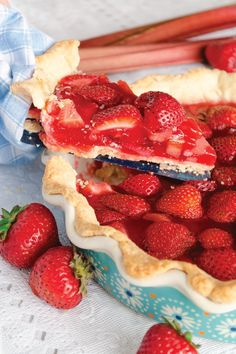 This Easy Strawberry Rhubarb Pie recipe is as classic as it gets when it comes to scrumptious summer dessert ideas. Plus, fresh berries make this no-bake sweet treat even more fantastic.