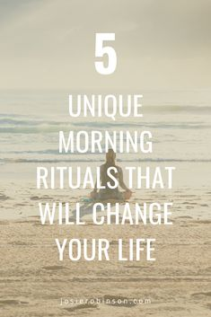 Simple morning rituals for happiness and self care. Start each day on the right note by spending just a few minutes doing these unique morning rituals that will change your life! Morning Meditation, Morning Ritual, New Year Inspirational Quotes, Gratitude Jar, Miracle Morning, Mind Body Soul, Make Time, Positive Affirmations, Your Life