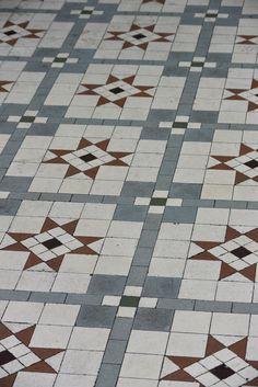 London - Victorian floor tiles
