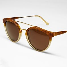 Fancy - Giaguaro Caffelatte Sunglasses by Retro Super Future