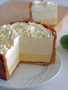 Triple Key Lime Pie | Best Pie Recipes Ever: Perfect For Christmas And Special Holidays