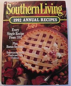 Southern Living 1992 Annual Recipe Book
