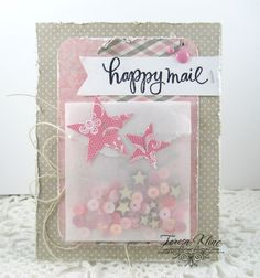 Happy Mail by va.sunshine - Cards and Paper Crafts at Splitcoaststampers