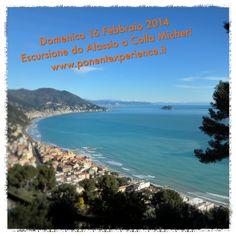 The Winter Experience: domenica 16 febbraio 2014 escursione da Alassio a Colla Micheri. http://wp.me/p49RbZ-2h