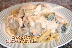 Crockpot Chicken Alfredo.