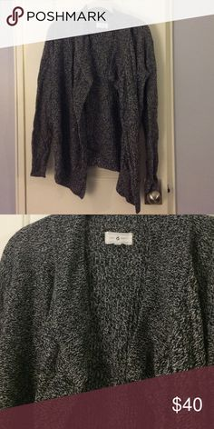 SALE! Lou & Grey Cardigan from Loft Open feint cardigan, lightly worn and washed, in great condition. 38% merino wool, 31% rayon, 31% nylon. Lou & Grey Sweaters Cardigans